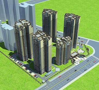 高层住宅小区