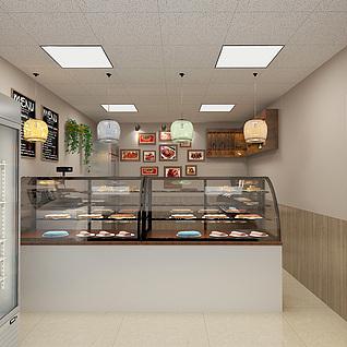 烤鸭店3d模型