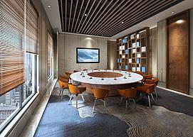 会议室模型整体模型