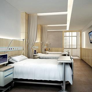 病房整体模型