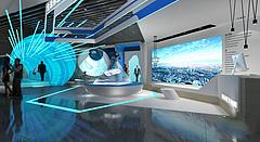 展厅模型3D模型