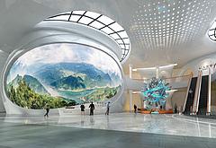 规划馆3D模型