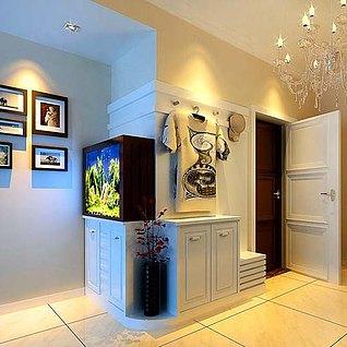 客厅鞋柜3d模型