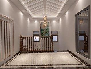 楼梯间3d模型