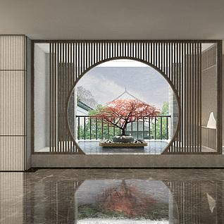 大厅模型3d模型