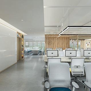 办公室模型3d模型