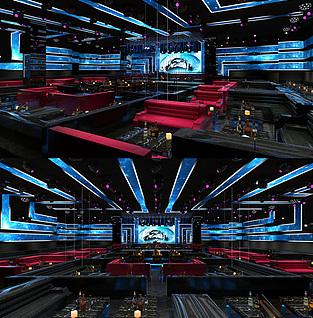 酒吧,KTV3d模型