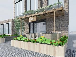 室外花园3d模型