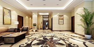 入户,大厅3d模型
