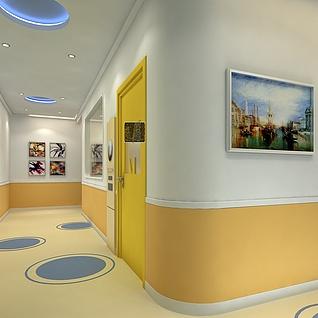走廊整体模型