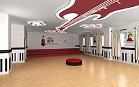 音乐室3d模型