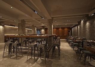 怀旧茶餐厅3d模型