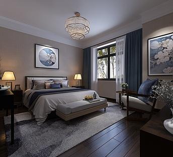 简约清新式卧室