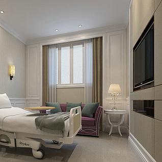 单间病房整体模型