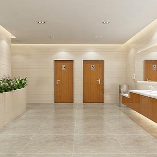 洗手间整体模型