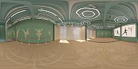 舞蹈室3d模型