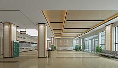 医院住院大厅3D模型