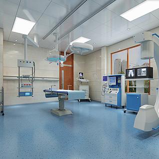 现代医院手术室整体模型