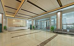 现代医院大厅3D模型