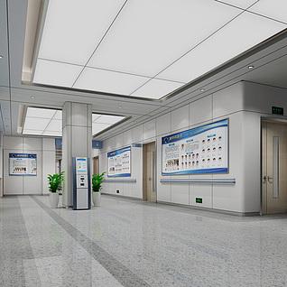 医院挂号付费处整体模型