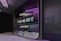 展厅服务台3D模型