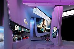 展厅前台3D模型