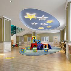 童活动室_儿童活动室娱乐室玩耍处整