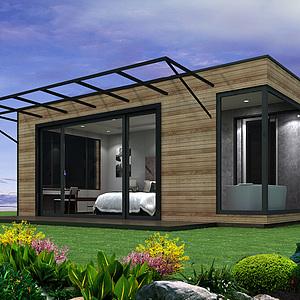 集裝箱客房3d模型