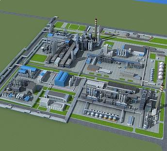 化工厂规划