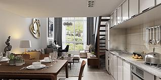 公寓家装3d模型