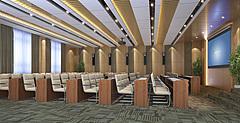 视频会议室3D模型