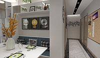 现代简约家装客厅3d模型