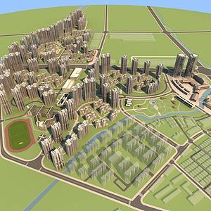 <font class='myIsRed'>城市</font>規劃設計整體模型