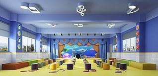 教室3d模型