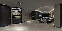 黑白色系现代家装模型3d模型