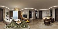 现代家装设计模型3d模型