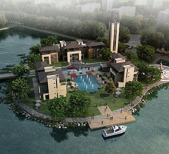 湖中高端别墅