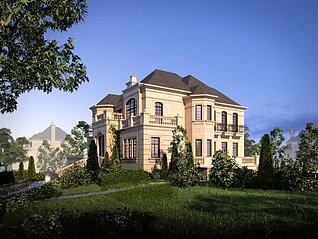 别墅工装3d模型