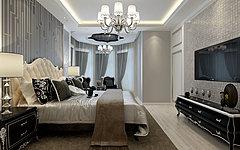 欧式卧室整体模型
