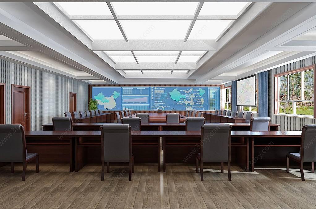 会议室指挥中心