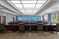 会议室指挥中心3D模型