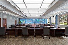 会议室指挥中心整体模型