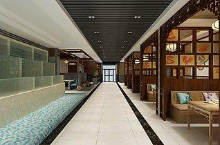 火锅店餐厅3d模型