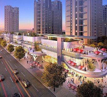 商业购物广场