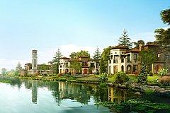 水景别墅3D模型