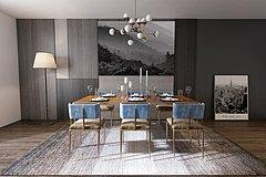 餐桌,餐椅整体模型