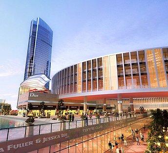 现代大型购物中心