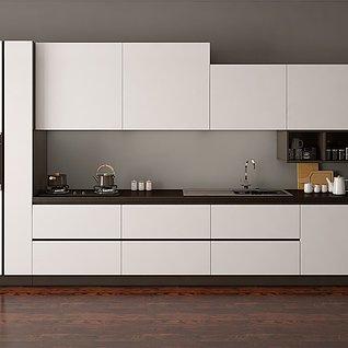 廚房家裝模型