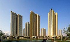 高层小区住宅楼商场3D模型
