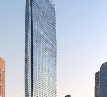 高层玻璃幕墙建筑大厦